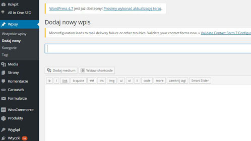 Dodawanie nowych wpisów w WordPressie – podstawy